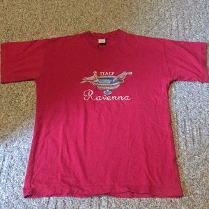 Italy Ravenna embroidered T-shirt